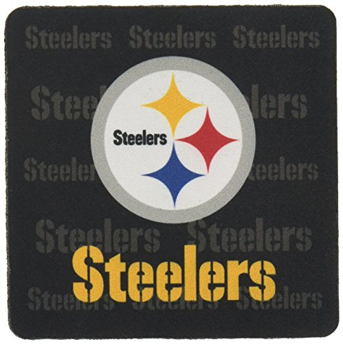 (NFL Pittsburgh Steelers Neoprene Coaster, 4-Pack)