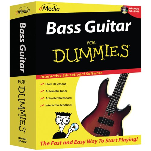 (eMedia Bass Guitar For Dummies)