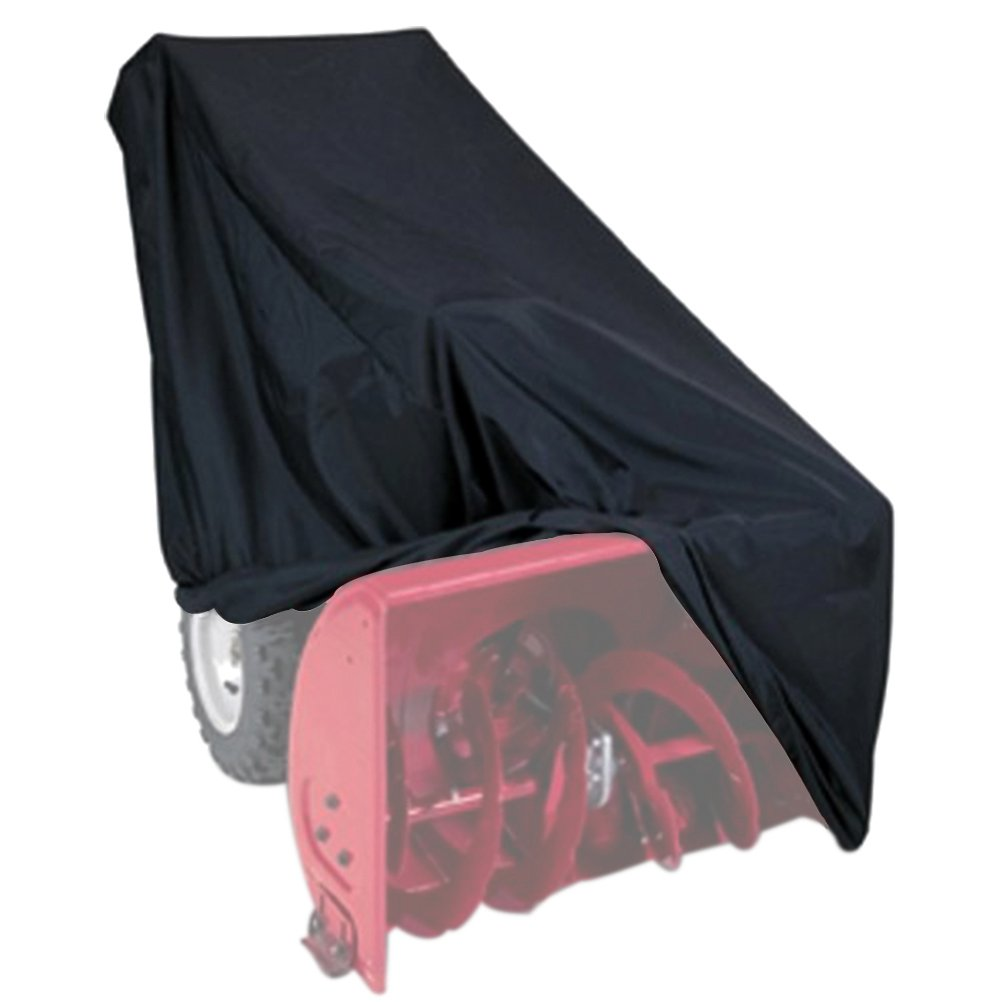 NKTM All Weather Two-Stage Snow Thrower Cover With Storage Bag (47'' L x 31'' H x 37'' W)