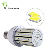30W 5000K Daylight Led Corn Bulbs Large Mogul Screw E39 Base LED for Low Bay Street Lamp Post Lighting Garage Factory Warehouse (100W CFL/MH/HID/HPS)