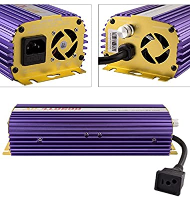 Apollo Horticulture 400 600 1000 Watt Hydroponic MH HPS Grow Light Dimmable Digital Ballast - Pick Your Wattage