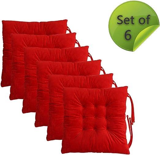 Amazon.com: Cómodas y suaves almohadillas para silla, con ...