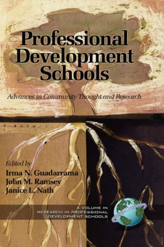Read Online Advances in Community Thought and Research (Research in Professional School Development) pdf epub