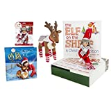 Elf on the Shelf Holiday Gift Bundle: Boy Scout Elf (Blue Eyes), Cuddly Plush Reindeer Elf Pet, Christmas Tradition Storybook, A Reindeer Tradition Storybook, and (2) Matching Polar Pattern Winter Wear Sets