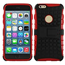 For IPhone6 plus iPhone6s plus 5.5 Inch Heavy Duty Defender Case With Stand Impact Hybrid Armor Hard Plastic Cover For Apple iPhone 6 6s plus Cases