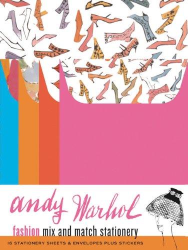 Match Stationary (Andy Warhol Fashion Mix and Match Stationery)