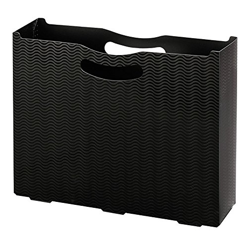 - Smead Poly File Box, Letter Size, Black (71631)
