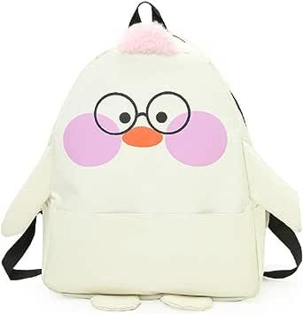 حقيبة ظهر نسائية ملونة بسحاب إغلاق حقيبة متينة لطيفة على شكل رسوم متحركة