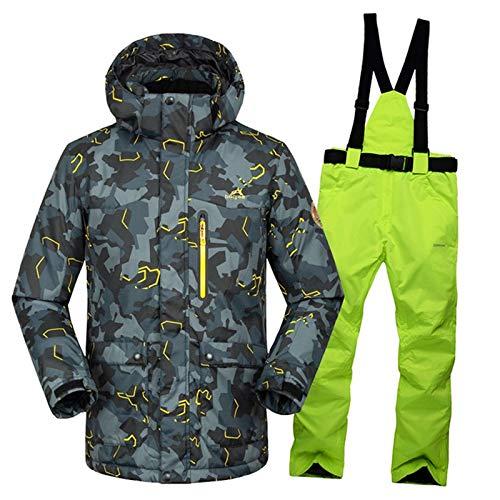 XMDNYE - Giacca da Sci da da da Uomo 35 Gradi  Pantaloni Addensare Tuta da Sci Tuta da Sci da Uomo, Abbigliamento Invernale da Uomo, per Uomo All'Aperto,XXLB07KJ6L6NFL | Alta qualità ed economia  | Moderno Ed Elegante Nella Moda  | Reputazione a lungo termine 05b735
