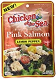 Chicken Of The Sea Pink Salmon, Lemon Pepper, 2.5 Ounce (Pack of 12)