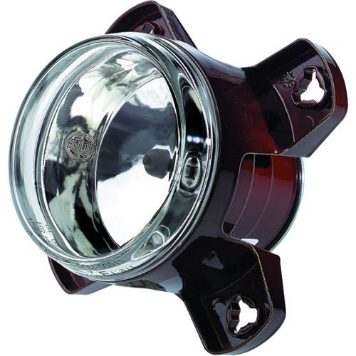 HELLA 008191057 90mm 12V High Beam Halogen Headlamp (Hella Headlamp)
