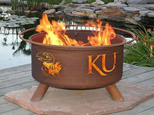 Patina F239 Kansas University Fire (Patina Outdoor Fire Pit)