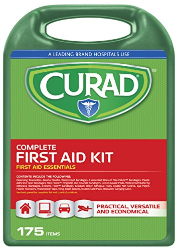 (Curad Complete Kit In Hard Case, 175 Count )