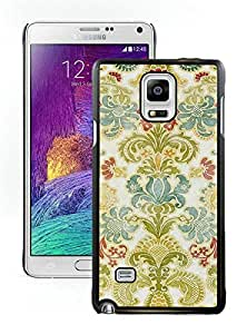 Perfect fit for your beloved phone,100% Brand New Colorful Damask Black For Samsung Note 4 Case