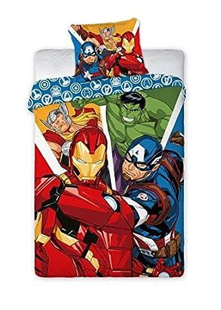 Unbekannt Avengers 019 Marvel Bettwäsche Kinderbettwäsche 140x200 Cm