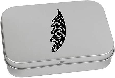 'Abstract Leaf' Metal Hinged Tin / Storage Box (TT00131950)