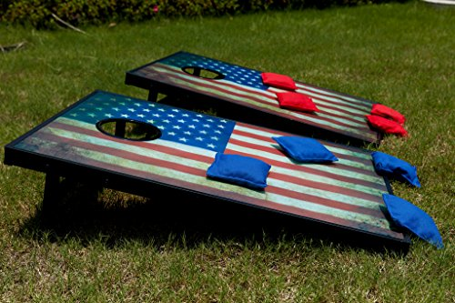 Sports Festival Light Up LED Cornhole Board Bean Bag Toss Game Set by Sports Festival (Image #5)
