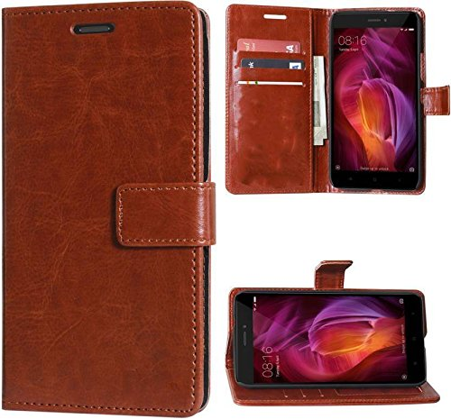 Stylish Luxury Mercury Magnetic Lock Diary Wallet Style Flip Cover Case for Mi Redmi 3s Prime  Cherry  Cases   Covers