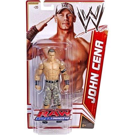 Mattel WWE Wrestling Basic Series 18 John Cena Action Fig...