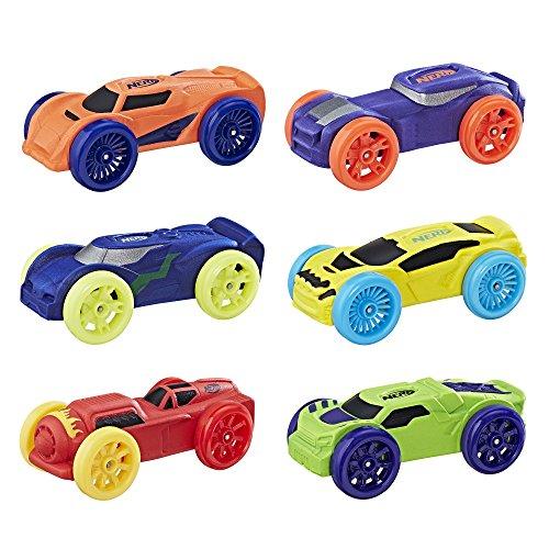 Nerf Nitro Foam Car 6-Pack (Version 1)