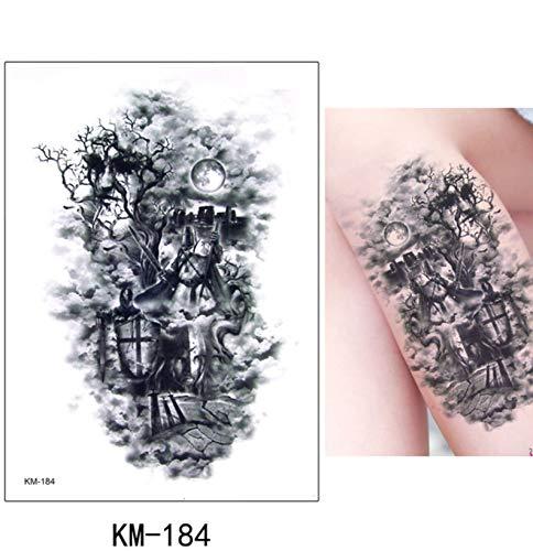 slldyax Etiqueta engomada del tatuaje temporal falso tatuaje moda ...