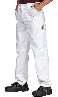 Neri Estivi Pantalone per Sicurezza sul Lavoro Leggeri Multitasche Uomo Elasticizzati REIS Pantalonei da Lavoro Lunghi