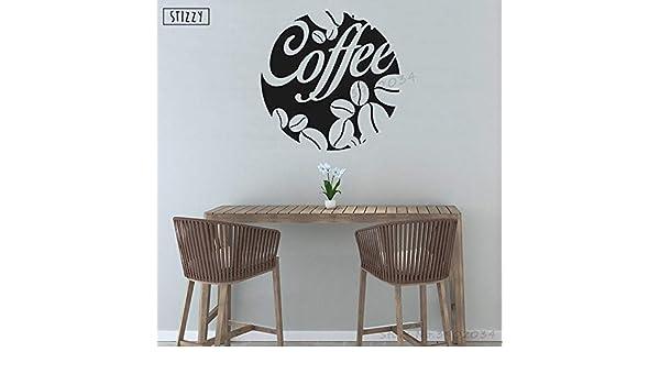 yaoxingfu Etiqueta de la Pared Modern Cafe Shop Signo ...