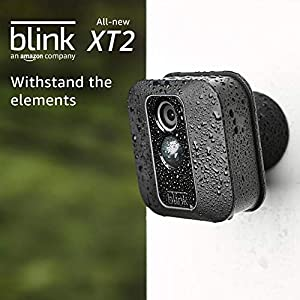 All-new Blink XT2 Outdoor/Indoor Smart Security Camera with cloud storage included, 2-way audio, 2-year battery life - 1 camera kit