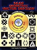 1440 Geometric Vector Designs CD-ROM and Book (Dover Electronic Clip Art)