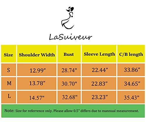 e4064e26d8 LaSuiveur Women s Slim Fit Cable Knit Long Sleeve Sweater Dress (S ...