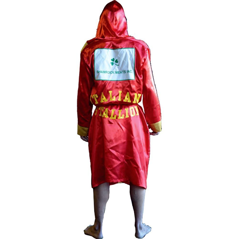 5c3bed8e3f Amazon.com  Rocky Balboa Italian Stallion Boxing Robe  Clothing