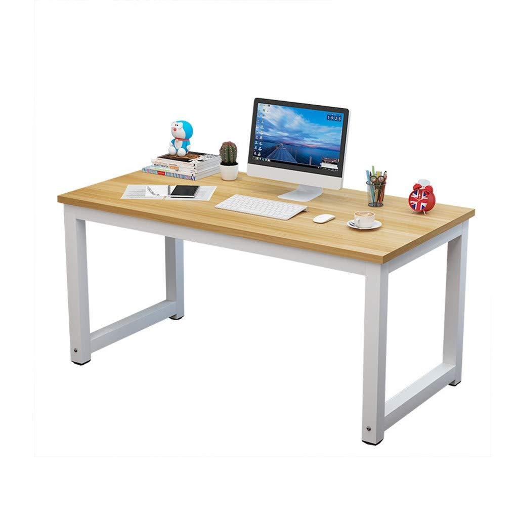 Household Desktop Computer Desk - Modern Simple Home Desk - Student Writing Household Desktop Office Desk - Conference Table Economic Laptop Study Desk Dining Table Workstation - for Home, Office by QIANSKY