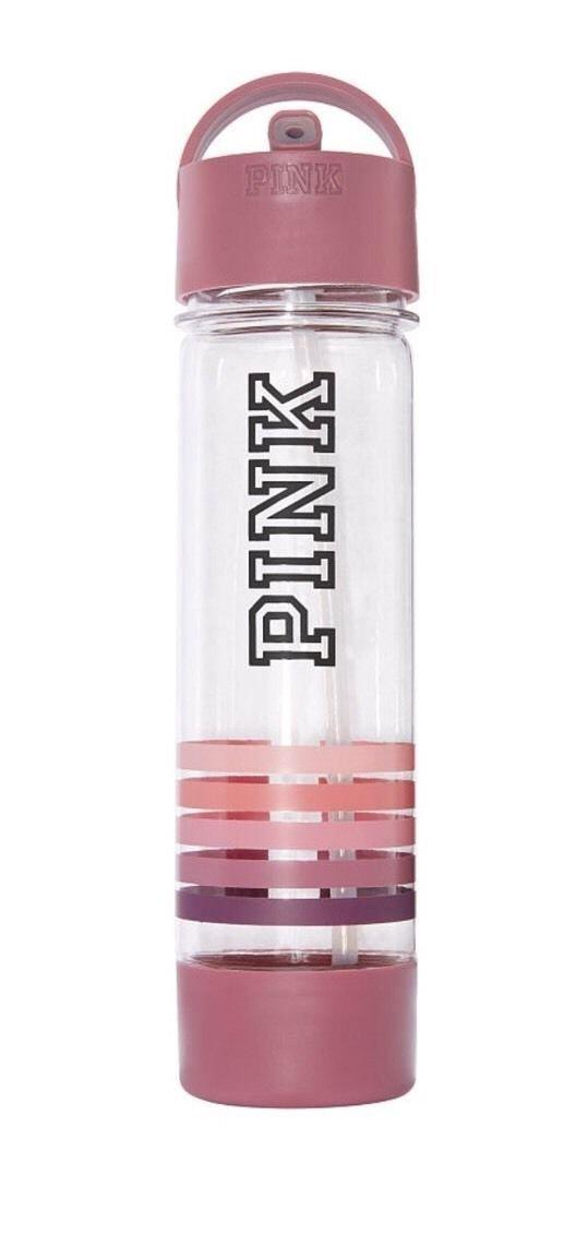 pink vs water bottle