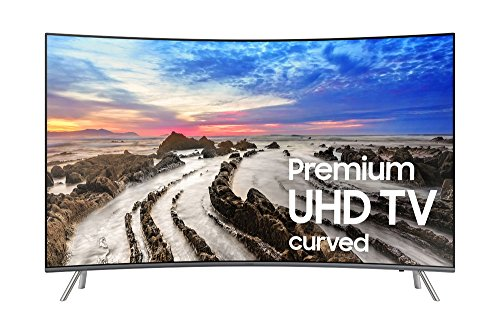 Samsung UN55MU8500FXZA  Electronics UN55MU8500 Curved 55-Inch 4K Ultra HD Smart LED TV (2017 Model) (Tv 55 Smart Led Samsung Tv)