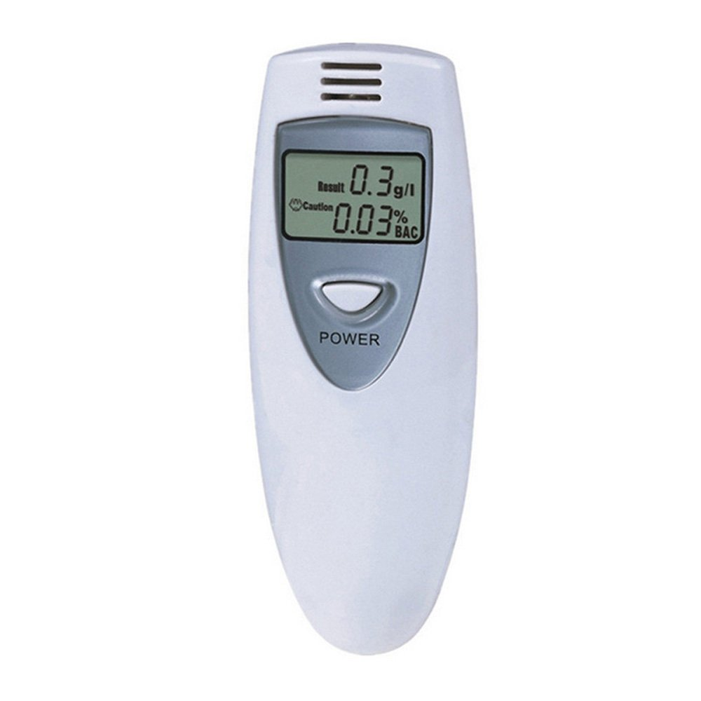6STARSTORE 1pcs professional alcohol analyzer police digital breath lcd display breath alcohol tester
