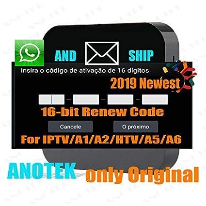 Amazon com: Brazil IPTV Box Activation Renew Code for A1/ A2/ HTV