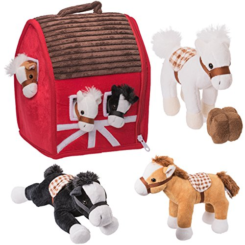 (Prextex Plush Farm House with Soft and Cuddly 5