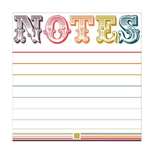 Pierre Belvedere Letterpress Sticky Note Pad,(975990)
