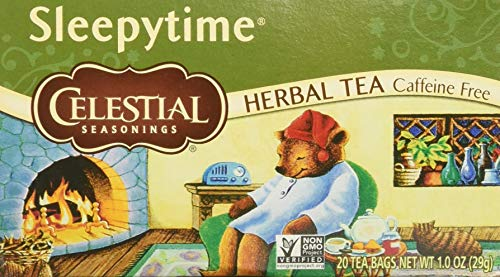 Celestial Seasonings Herbal Tea, Sleepytime,(2 Pack) (The Best Sleepy Time Tea)