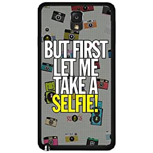 Let Me Take A Selfie - TPU Rubber Silicone Phone Case Back Cover Samsung Galaxy Note III 3 N9002