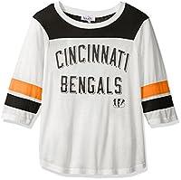 Touch by Alyssa Milano NFL Cincinnati Bengals Women's Gridiron Tee, White, Medium