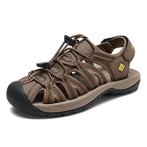 New Womens Ladies Khaki - DREAM PAIRS Women's 160912-W-NEW Khaki Yellow Adventurous Summer Outdoor Sandals Size 9.5 M US