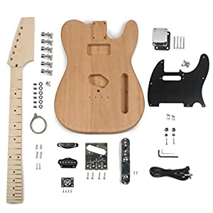 stewmac build your own t style electric guitar kit musical instruments. Black Bedroom Furniture Sets. Home Design Ideas
