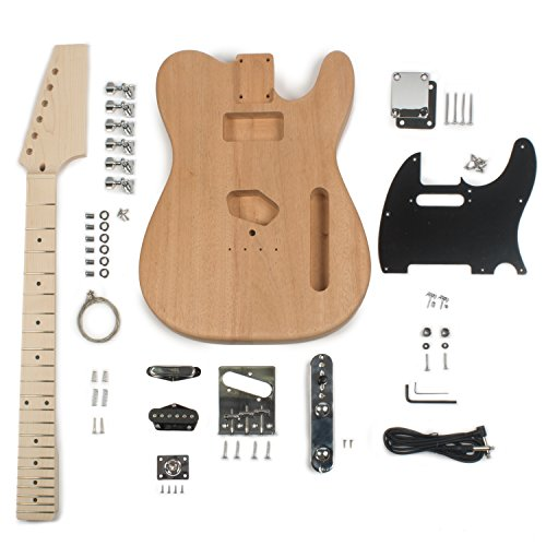 StewMac Build Your Own T-Style Electric Guitar Kit ()