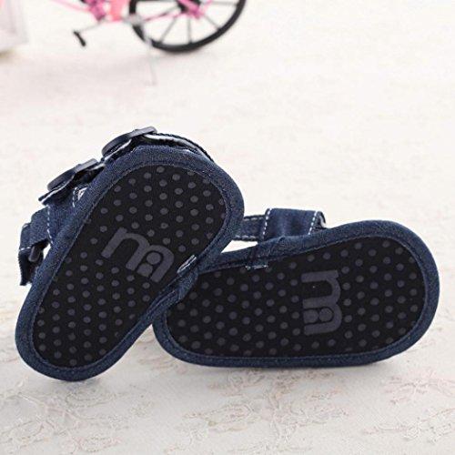 SMARTLADY Sandalias lindo bebe antideslizante Casuales Zapatos de Bebe niños Recién nacidos