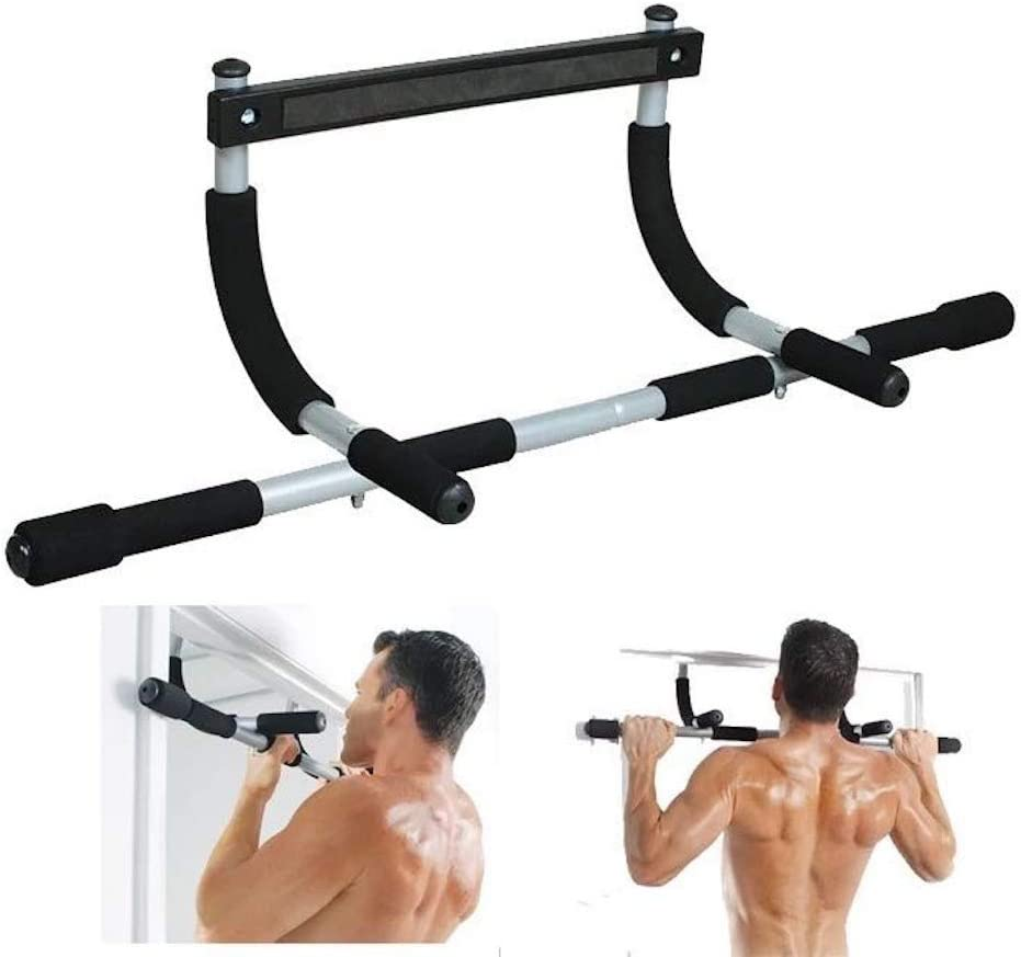 4Aura Home Gym Exercise Wall Doorway Chin Horizontal Pull up bar