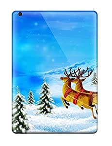 Premium Merry Christmas Heavy-duty Protection Case For Ipad Air