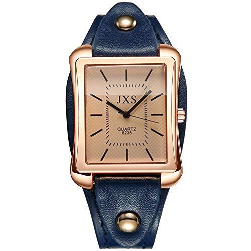 Mujer Relojes De Pulsera Fashion Cuarzo Gama Alta Reloj Cristal Azul Deportivo Reloj Mujer: Amazon.es: Relojes
