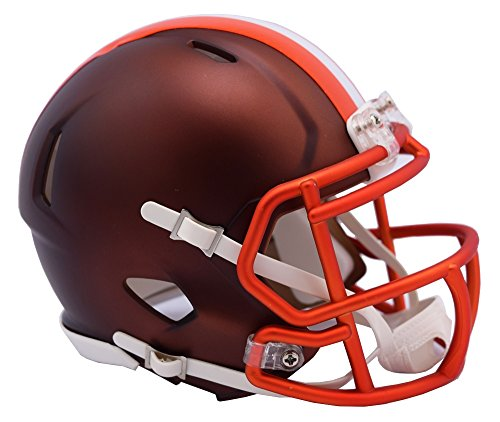 NFL Cleveland Browns Riddell Alternate Blaze Speed Full Size Replica Helmet by Riddell