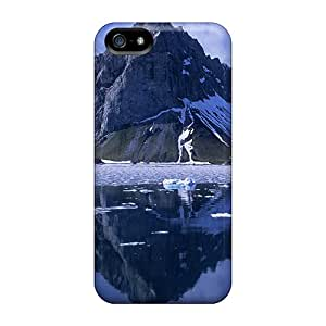 Mountain Reflection Fashion Tpu 5/5s Case Cover For Iphone